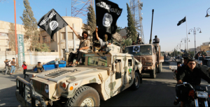 ISIS has cache of US weapons, vehicles, and munitions